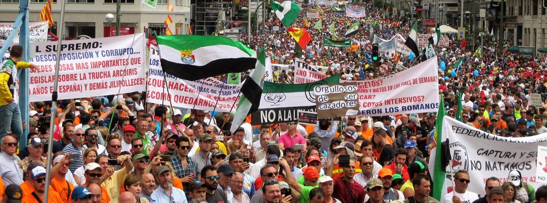 Manifestación 5 Junio Madrid