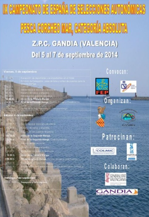 valencia federacion pesca comunidad valenciana: