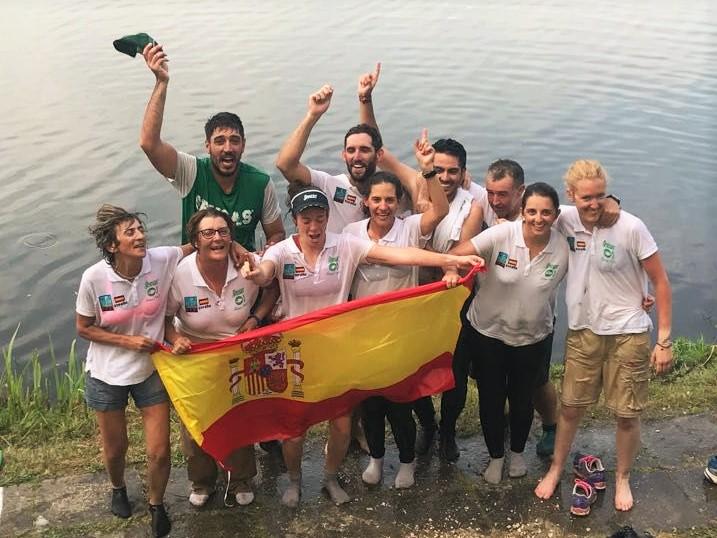Campeonas de mundo en pesca agua dulce