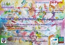Cartel 3º Encuentro Cultural De-Porte