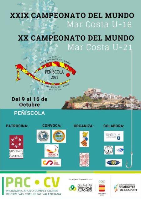 Campeonato del Mundo Mar-Costa Sub16 y Sub 21