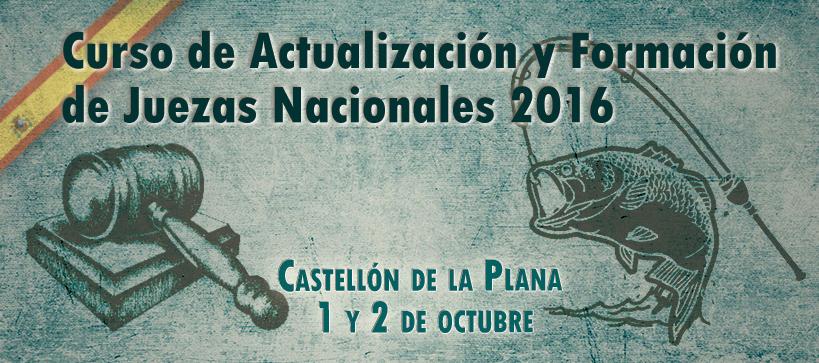 Curso de Actualización y Formación de Juezas Nacionales 2016