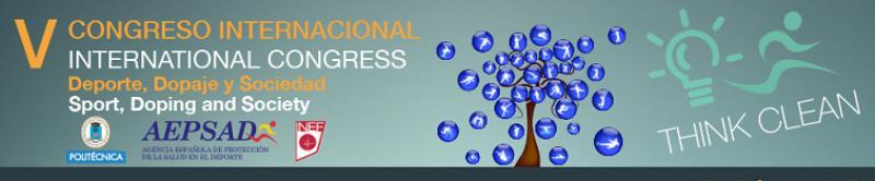 V Congreso Internacional DEPORTE, DOPAJE y SOCIEDAD